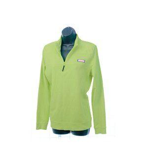 SOLDVineyard Vines Lime Green Sweatshirt